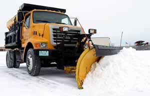 Snow Services Plow Truck